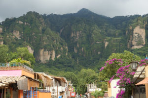 Rainly weather in Tepoztlan