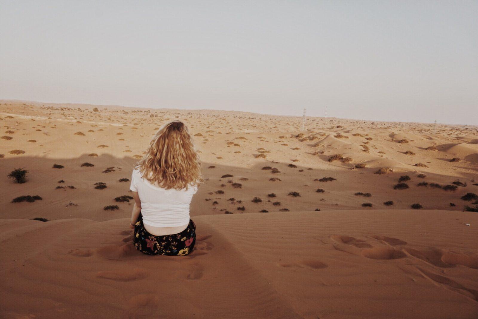 desert dubai