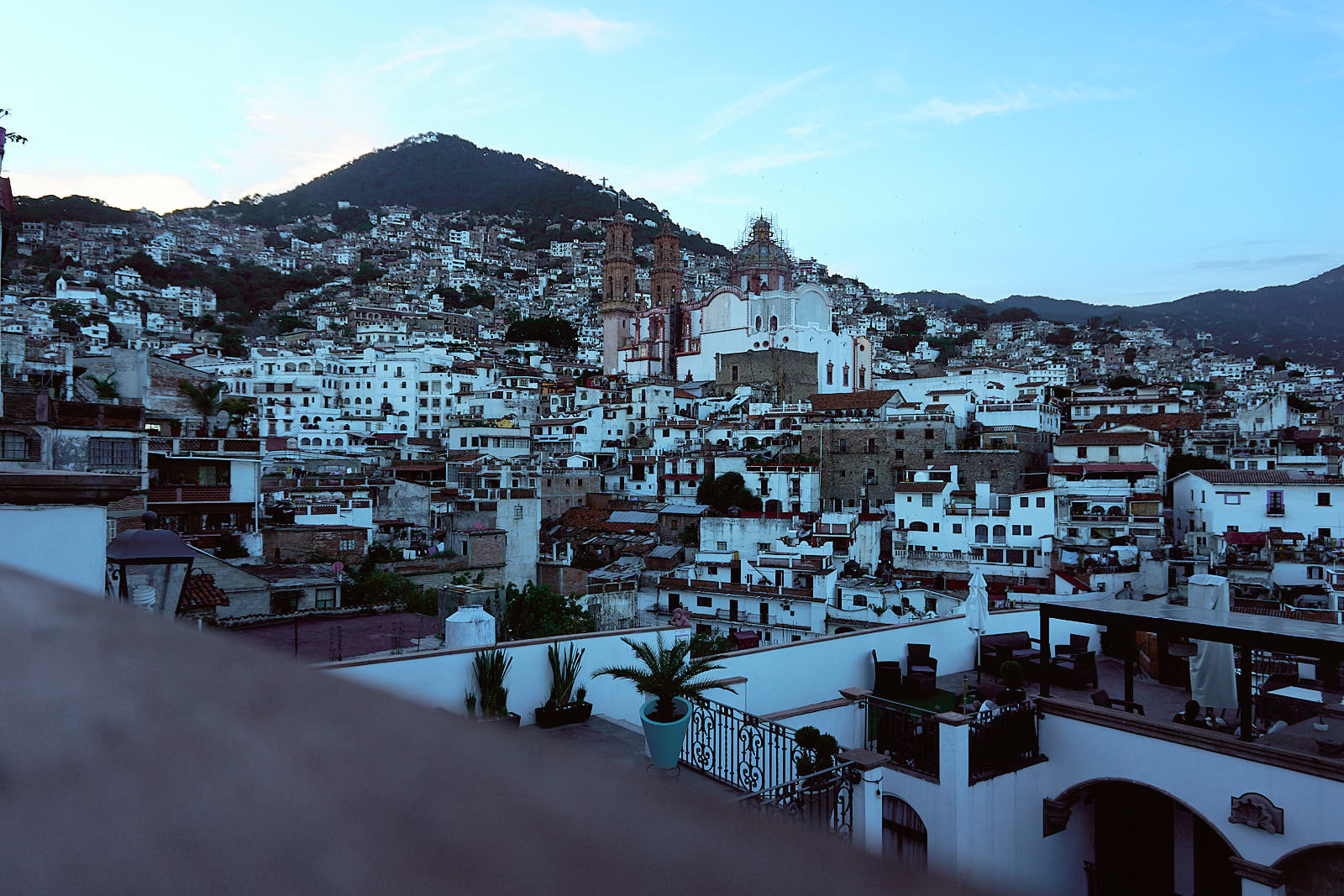 Gorgeous landscape of Taxco, Mexico